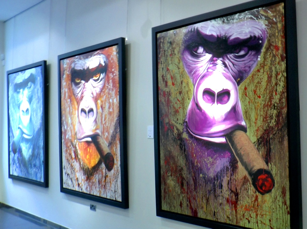 APES noe two galerie bartoux wonder london life