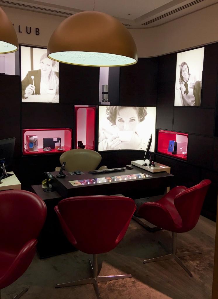 consultation lounge Nespresso lifestyle boutique wonder london life