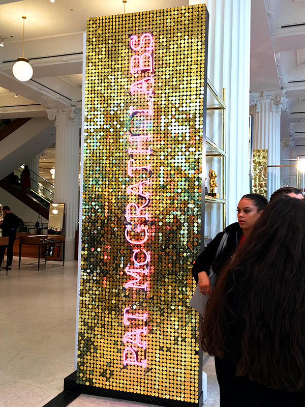 Pat mcgrath labs selfridges london
