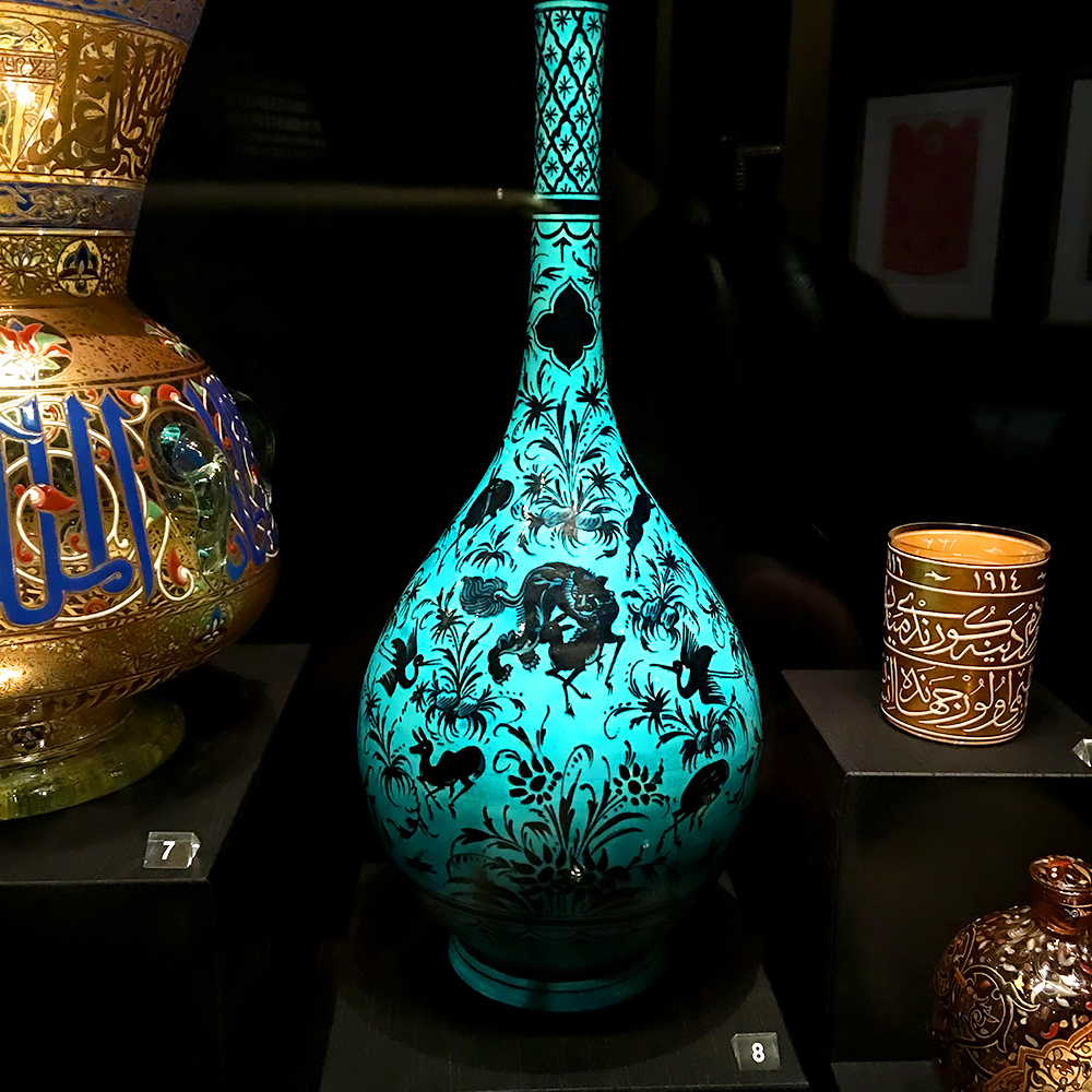 inspired by the east british museum persian blue vase wonder london life